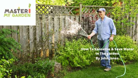 How to conserve & save water in your garden.